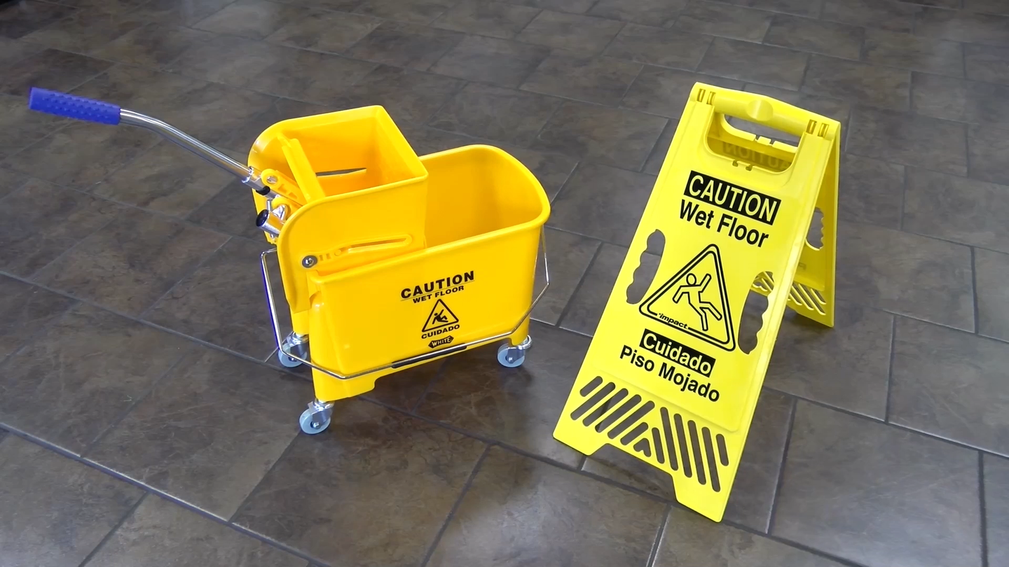 Wet Floor Safety Signs & Cones